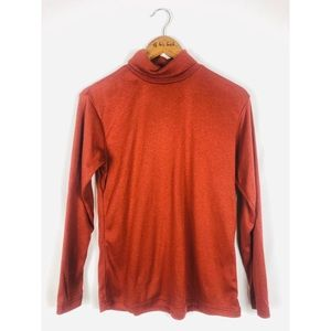 Rustic Red Classic Turtleneck